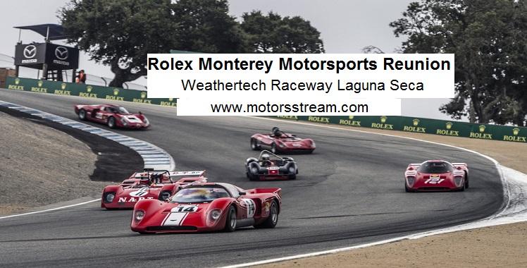 Live Rolex Monterey Motorsports Reunion