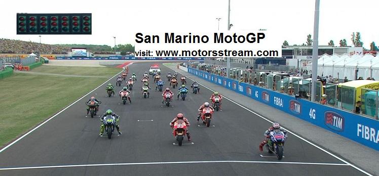 Live San Marino MotoGP