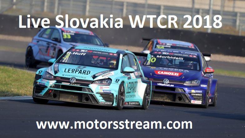 Live Slovakia WTCR 2018