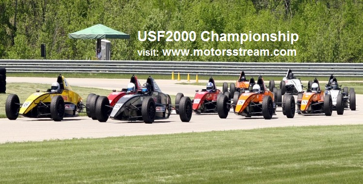 Live USF2000 Championship at Portland
