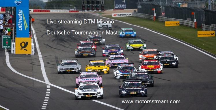 Live streaming DTM Misano