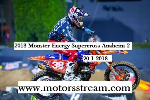 Watch AMA Supercross Anaheim Rd 3 Live
