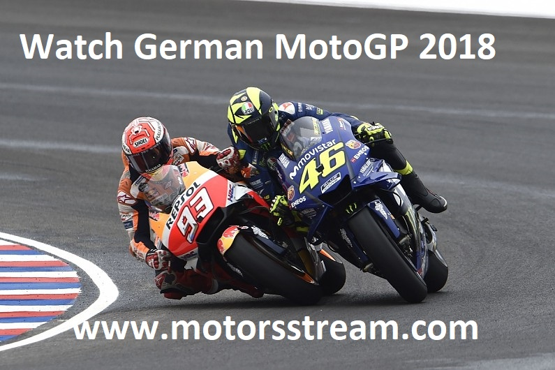 Watch German Moto GP 2018