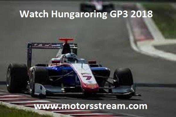 Watch Hungaroring GP3 2018