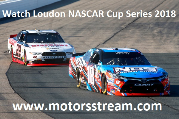Watch Loudon NASCAR Cup Series 2018