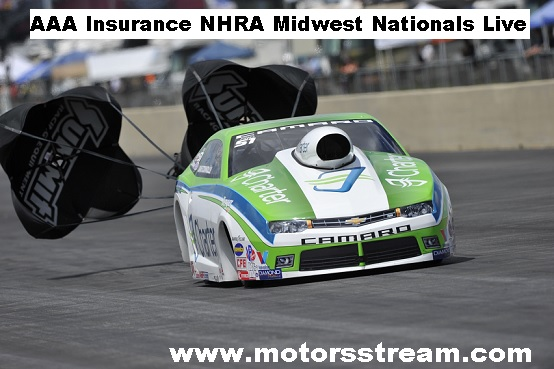 AAA Insurance NHRA Midwest Nationals Live