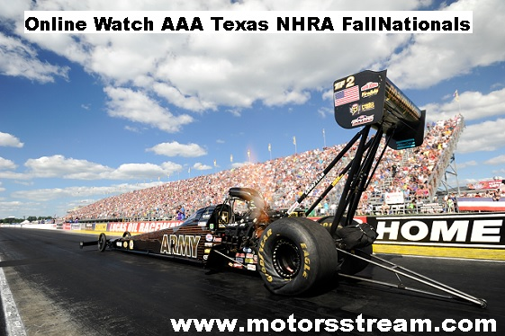 AAA Texas NHRA FallNationals Live