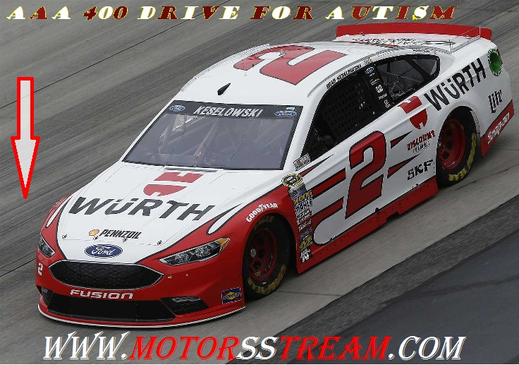 Live AAA 400 Drive for Autism NASCAR 2017 Online Telecast