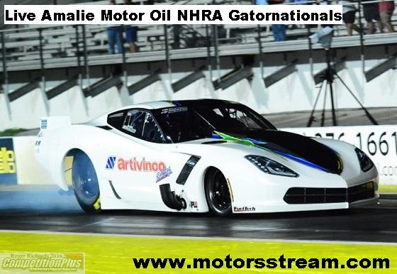 Amalie Motor Oil NHRA Gatornationals Live