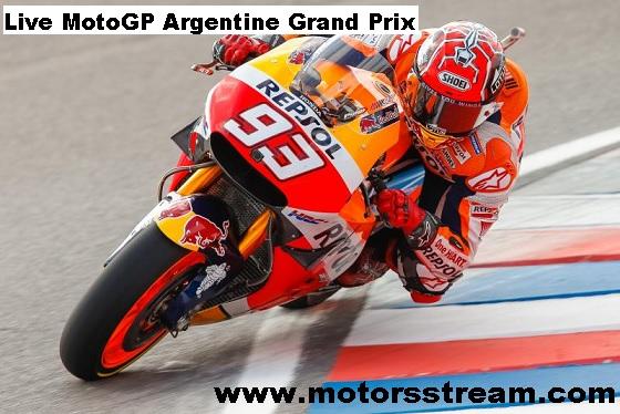 Argentine Grand Prix Live