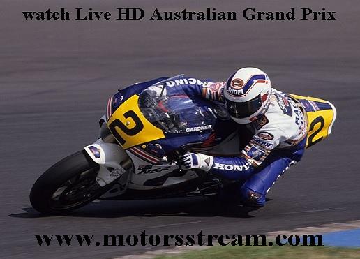 Australian Motorcycle Grand Prix Live