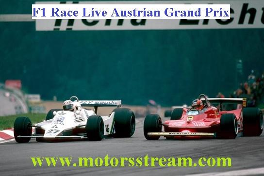 Austrian F1 Grand Prix Live