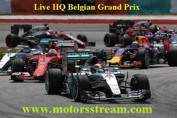 Belgian Grand Prix Live