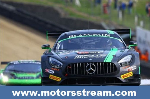 Brands Hatch Blancpain GT Series 2017