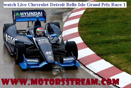 Chevrolet Detroit Belle Isle Grand Prix Race 1 Live