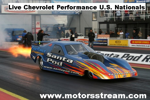 Chevrolet Performance US Nationals Live
