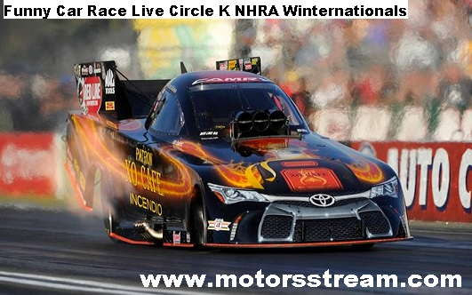 Circle K NHRA Winternationals Live