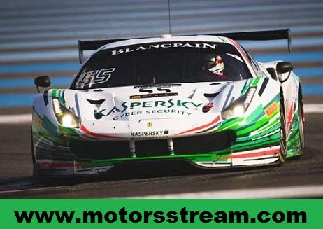 Circuit Paul Ricard Blancpain GT Race Live