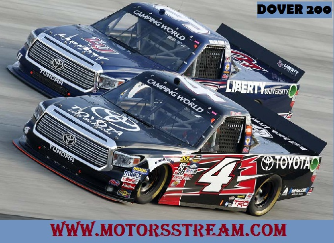 Watch Dover 200 Camping World Truck Series 2017 Online