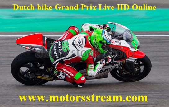 Dutch bike Grand Prix Live