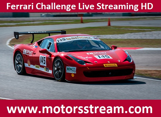 Ferrari Challenge live HD Stream