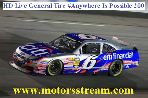 General Tire Anywhere Is Possible 200 Live
