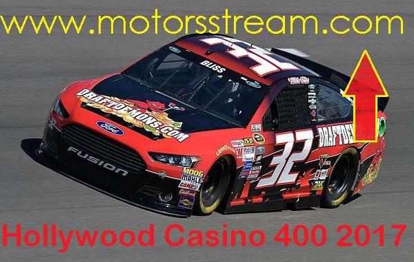 Live Hollywood Casino 400 Online Telecast