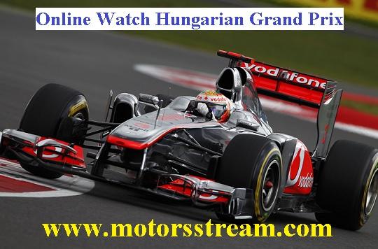 Hungarian Grand Prix Live