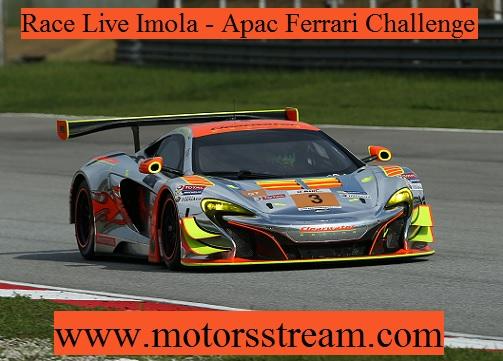 IMOLA APAC Ferrari Challenge Live