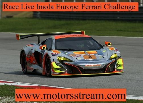 Imola Europe Ferrari Challenge Live