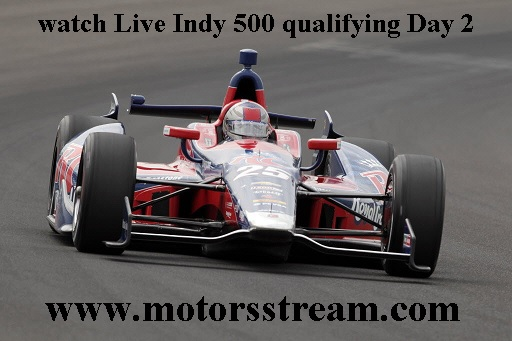 Indy 500 qualifying Day 2 Live