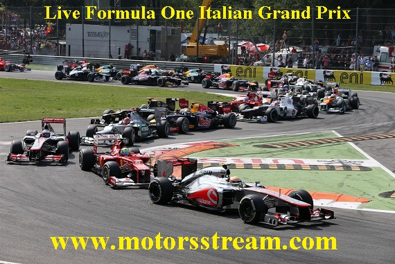 Italian FormulaOne Grand Prix Live