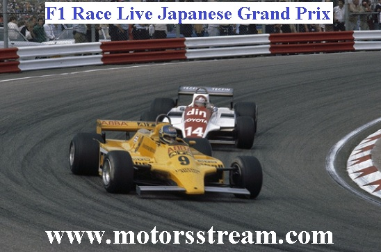 Japanese F1 Grand Prix Live