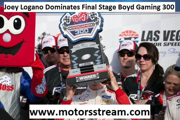 Joey Logano Dominates 2017 Boyd Gaming 300