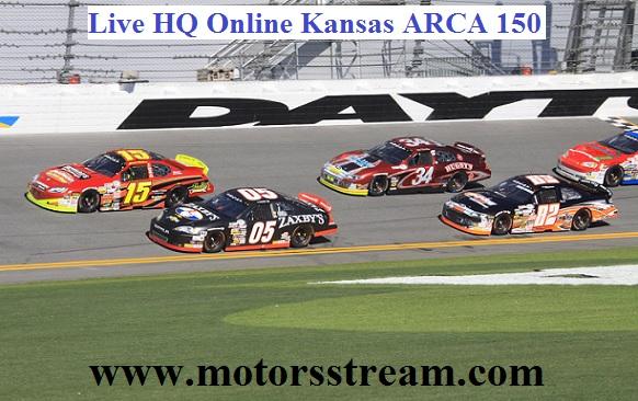 Kansas ARCA 150 Live