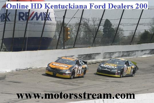 Kentuckiana Ford Dealers ARCA 200 Live