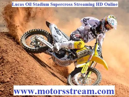 Lucas Oil Stadium Supercross Live