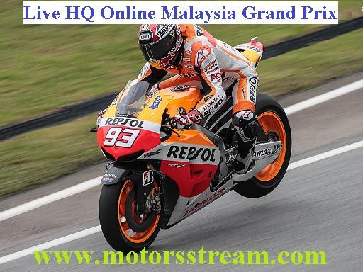 Malaysia bike Grand Prix Live