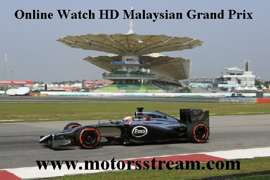 Malaysian F1 Grand Prix Live