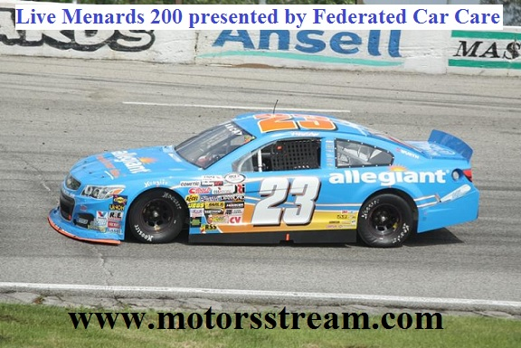 Menards 200 presented by Federated Car Care Live