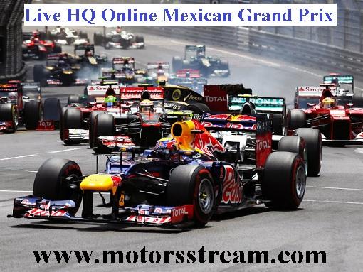 Mexican F1 Grand Prix Live
