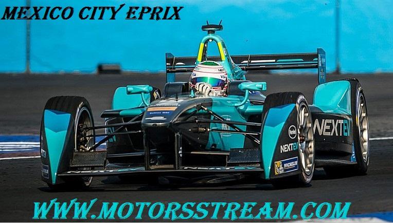 Watch Mexico City ePrix Formula E 2017 live Online