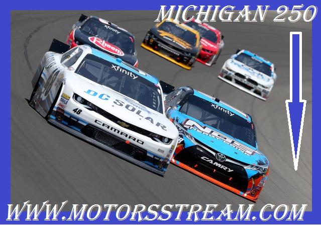 Live Michigan 250 NASCAR Xfinity Series Online