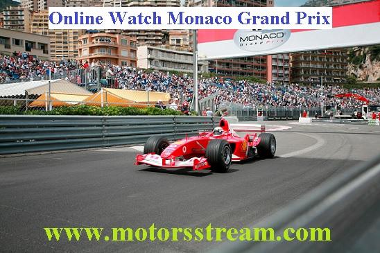 Monaco Grand Prix Live