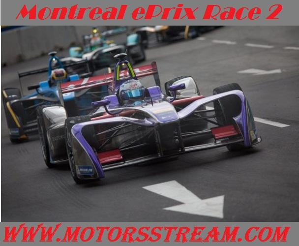 Live Montreal ePrix Race 2 Formula E 2017 Online Coverage