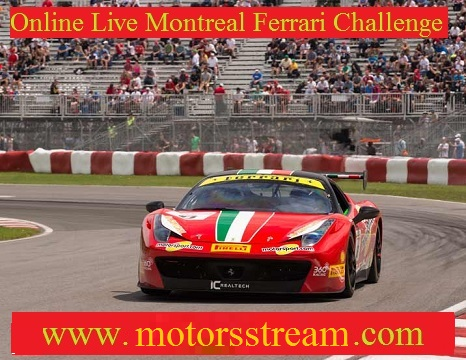 Montreal Ferrari Challenge Live