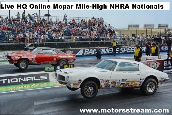 Mopar Mile-High NHRA Nationals Live