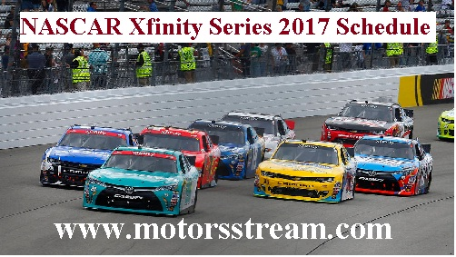 2017 NASCAR Xfinity Series Dates and Time