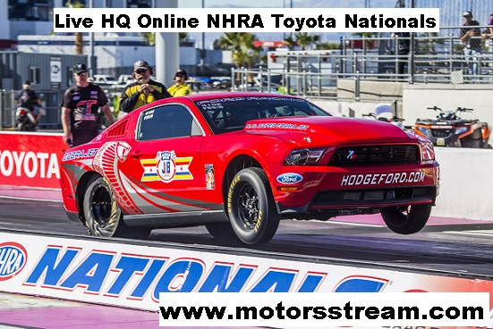 NHRA Toyota Nationals Live