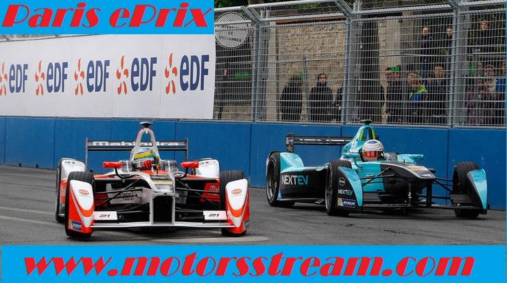 Watch Paris ePrix Formula E 2017 Online Telecast